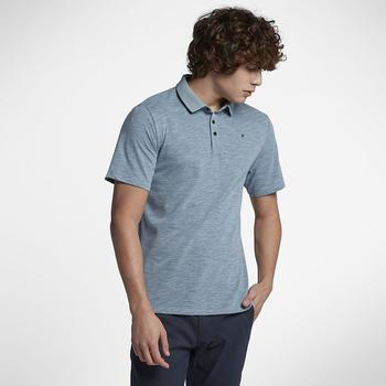 textil polos manga corta Hurley Polo  Dri Fit Lagos Light Blue multicolor