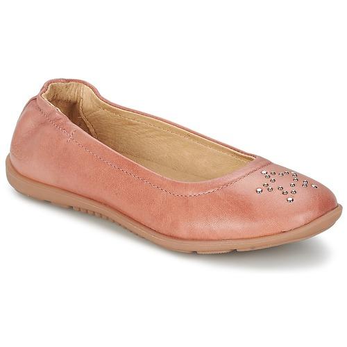 Zapatos Niña Bailarinas-manoletinas Mod'8 OLIVIA Melocotón