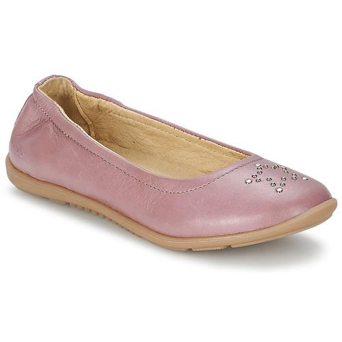 Zapatos Niña Bailarinas-manoletinas Mod'8 OLIVIA Rosa
