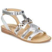 Zapatos Niña Sandalias Mod'8 JADE Plateado