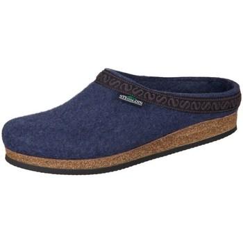 Zapatos Mujer Pantuflas Stegmann Jeans Wollfilz Azul marino