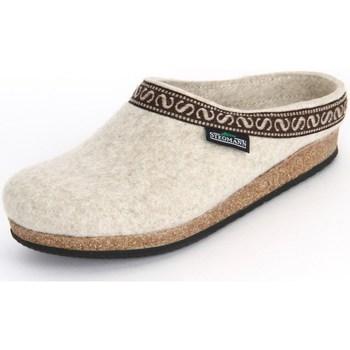 Zapatos Mujer Pantuflas Stegmann Natur Wollfilz Beige