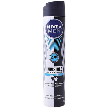 Belleza Hombre Desodorantes Nivea Men Black & White Active Deo Vaporizador