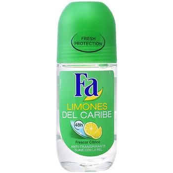 Belleza Desodorantes Fa Limones Del Caribe Deo Roll-on  50 ml