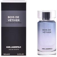 Belleza Hombre Agua de Colonia Lagerfeld Bois De Vétiver Edt Vaporizador  100 ml