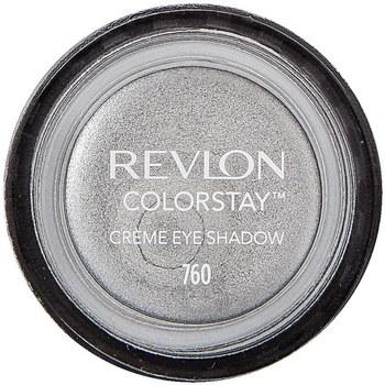 Belleza Mujer Sombra de ojos & bases Revlon Colorstay Creme Eye Shadow 24h 760-eary Grey 4,8 g