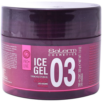 Belleza Acondicionador Salerm Ice Gel 03 Strong Hold Styling Gel  200 ml