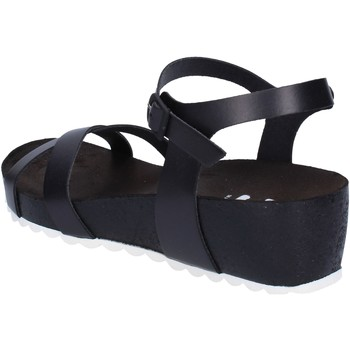 Zapatos Mujer Sandalias 5 Pro Ject sandalias negro cuero blanco AC700 negro