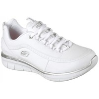 Zapatos Mujer Zapatillas bajas Skechers SYNERGY 2.0 WHITE SILVER