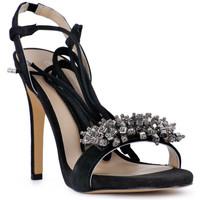 Zapatos Mujer Sandalias Café Noir CAFE NOIR SANDALO ACCESSORIO Nero