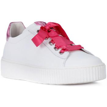 Zapatos Niña Zapatillas bajas Nero Giardini NERO GIARDINI  MANAUS BIANCO Bianco