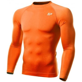 textil Niño Camisetas manga larga Sp Fútbol Térmica Doble Densidad Naranja