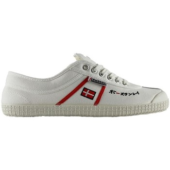Zapatos Zapatillas bajas Kawasaki 23 sp edit white red stripes 1