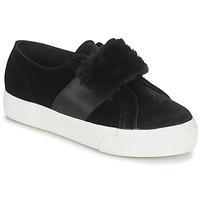Zapatos Mujer Zapatillas bajas Superga 2750-LEAPATENTW Negro