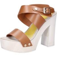 Zapatos Mujer Sandalias Suky Brand sandalias marrón cuero AC816 marrón
