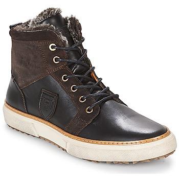 Zapatos Hombre Zapatillas altas Pantofola d'Oro BENEVENTO UOMO FUR MID Marrón