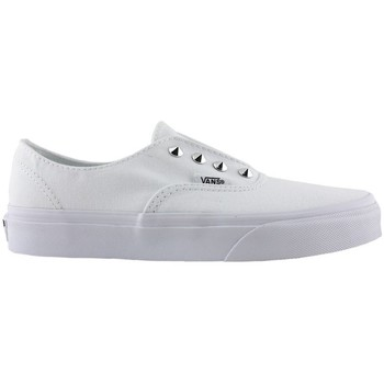 Zapatos Mujer Zapatos de skate Vans authentic gore studs true white women 1