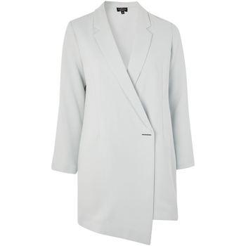 textil Mujer Chaquetas / Americana Anastasia Vestido de blazer chaqueta larga línea de primavera Green