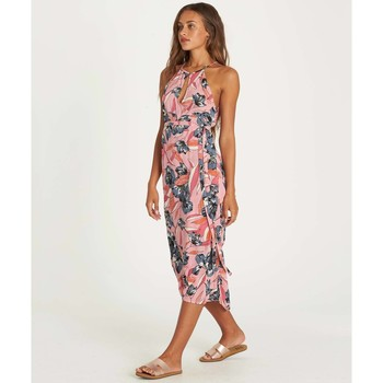 Billabong Vestido Aloha Babe Faded Rose multicolor