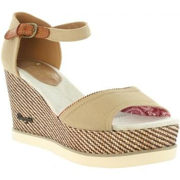 Zapatos Mujer Sandalias Wrangler WL171681 JEENA Beige
