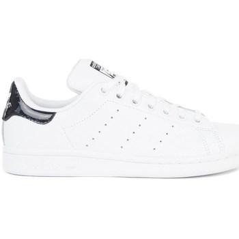Zapatos Niños Zapatillas bajas adidas Originals Stan Smith Blanco