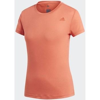 textil Mujer camisetas manga corta adidas Originals Freelift Prime Naranja