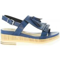Zapatos Mujer Sandalias Maria Mare 66724 Azul