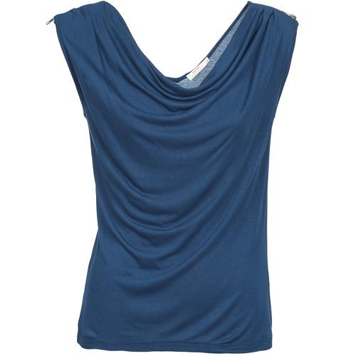 textil Mujer camisetas sin mangas DDP CARLA Marino