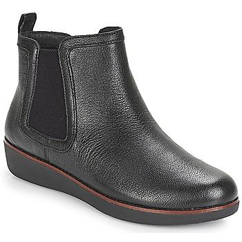 Zapatos Mujer Botas de caña baja FitFlop CHAI Negro