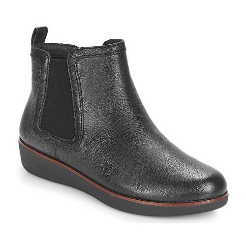 FitFlop CHAI Nueva Negro - Envío gratis Nueva CHAI promoción - Zapatos Botas de caña baja Mujer 159,00 33dd2d