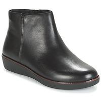 Zapatos Mujer Botas de caña baja FitFlop ZIGGY ZIP Negro