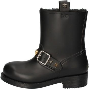 Zapatos Mujer Botines Roberto Cavalli botines negro gomma AD190 negro