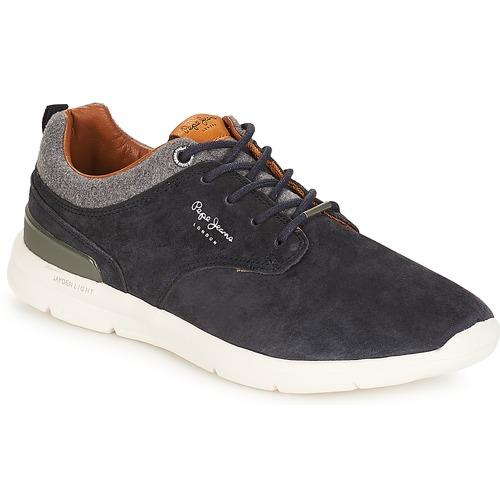 Zapatos Hombre Zapatillas bajas Pepe jeans Jayden Marino