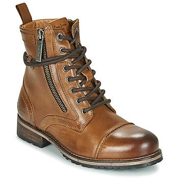 Zapatos Mujer Botas de caña baja Pepe jeans Melting Marrón