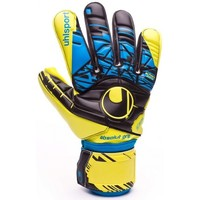 Accesorios textil Guantes Uhlsport Eliminator Speed Up Absolutgrip HN Lite fluor yellow-Black-Hydro blue