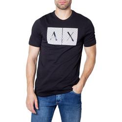textil Hombre camisetas manga corta Armani Exchange 8NZTCK Z8H4Z Nero