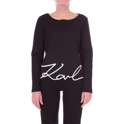 textil Mujer jerséis Karl Lagerfeld 76KW1734 Suéter Mujer negro negro