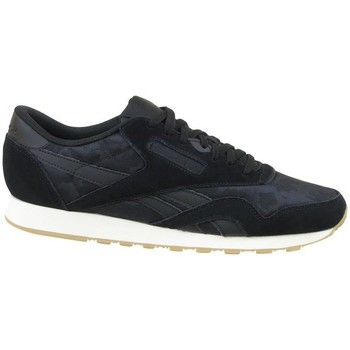 Zapatos Hombre Zapatillas bajas Reebok Sport CL Nylon SG Negros
