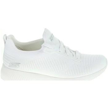 Zapatos Mujer Zapatillas bajas Skechers Bobs Squad Photo Frame Blanco