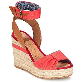 Zapatos Mujer Sandalias Napapijri BELLE Rojo