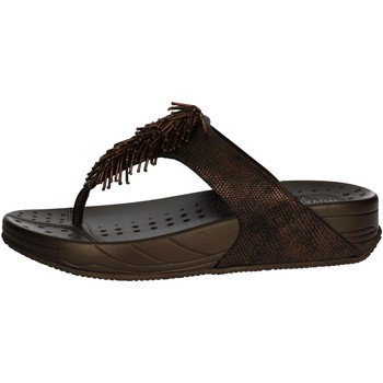 Zapatos Mujer Chanclas Novaflex PANDANO 001 Chanclas Mujer Bronce Bronce
