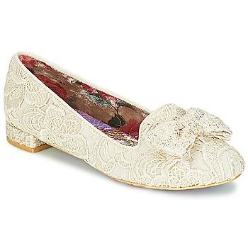 Zapatos Mujer Bailarinas-manoletinas Irregular Choice CHAN TILY Crema