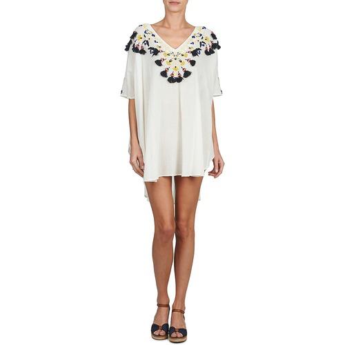 Blanco Batik Textil Túnicas Mujer Antik Dove 4ARL3jc5q