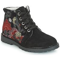 Zapatos Niña Botas de caña baja Catimini CAHAUT Negro