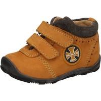 Zapatos Niño Zapatillas altas Balducci sneakers amarillo cuero de ante AD589 amarillo