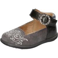 Zapatos Niña Bailarinas-manoletinas Balducci bailarinas gris gamuza charol AD599 gris