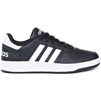Zapatos Hombre Zapatillas bajas adidas Originals Hoops 20 Negros