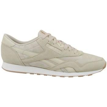 Zapatos Hombre Zapatillas bajas Reebok Sport CL Nylon SG Beige