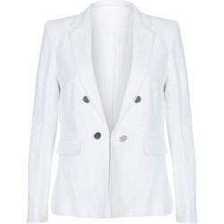 textil Mujer Chaquetas / Americana Anastasia Chaqueta de verano de lino White