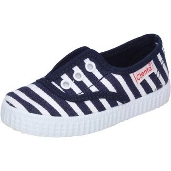 Zapatos Niño Zapatillas bajas Cienta sneakers azul textil profumate AD823 azul